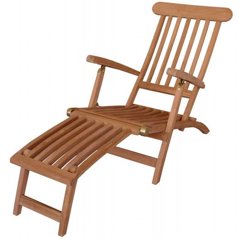 Deckchair *Classic* echt TEAK