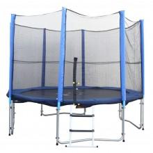 SPAR-SET (3,65m Trampolin + Netz, Abdeckplane & Leiter)