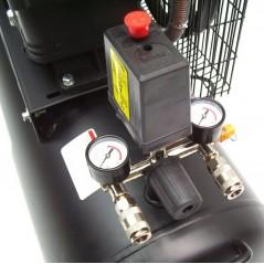 Druckluftkompressor V-Zylinder Kessel 100 Liter 10bar-3