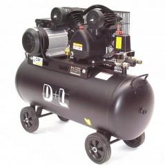 Druckluftkompressor V-Zylinder Kessel 100 Liter 10bar-1