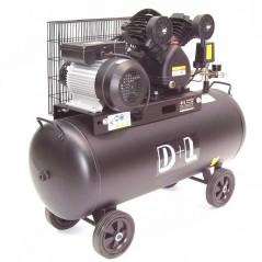 Druckluftkompressor V-Zylinder Kessel 100 Liter 10bar-5