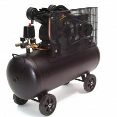 Druckluftkompressor V-Zylinder Kessel 100 Liter 10bar-9