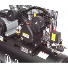 Druckluftkompressor V-Zylinder Kessel 100 Liter 10bar-11