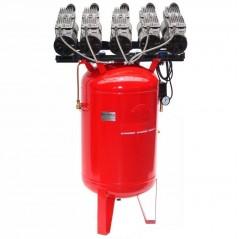 Druckluftkompressor Silent LEISELÄUFER V10 450/8/150W-St Ölfrei 5PS-1