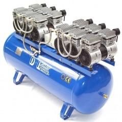 Druckluftkompressor Silent LEISELÄUFER V12 540/8/270W ölfrei 6PS-3