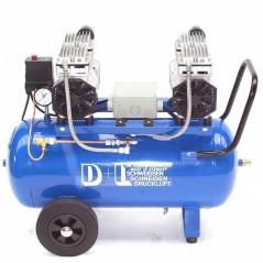 Druckluftkompressor Silent LEISELÄUFER V4 180/8/50W Ölfrei 50L 2PS-3