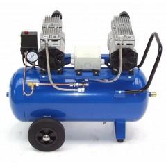 Druckluftkompressor Silent LEISELÄUFER V4 180/8/50W Ölfrei 50L 2PS-5