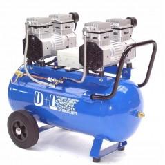 Druckluftkompressor Silent LEISELÄUFER V4 180/8/50W Ölfrei 50L 2PS-11