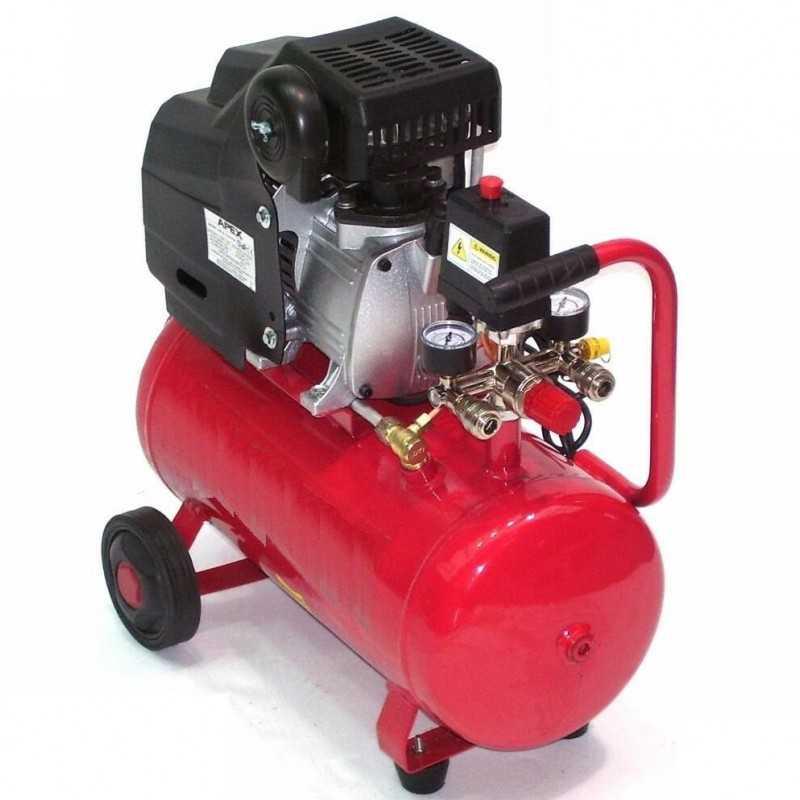 Druckluftkompressor 1100W 1,5PS 24L