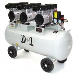 Druckluftkompressor 100L Silent LEISELÄUFER-1