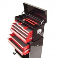 Werkstattwagen 8 Schubladen mit Werkzeugkiste-5