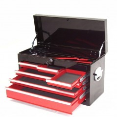 Werkstattwagen 8 Schubladen mit Werkzeugkiste-19