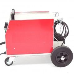 Schutzgasschweissgerät MIG/MAG 161 230V + Schutzgasflasche 2.2L Mischgas-3