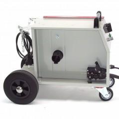 Schutzgasschweissgerät MIG/MAG 161 230V + Schutzgasflasche 2.2L Mischgas-5