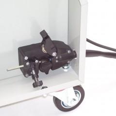 Schutzgasschweissgerät MIG/MAG 161 230V + Schutzgasflasche 2.2L Mischgas-7