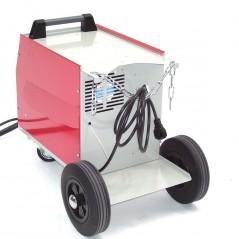 Schutzgasschweissgerät MIG/MAG 161 230V + Schutzgasflasche 2.2L Mischgas-11