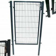 Quadratrohr Doppelstabmatten Gartentor 100x160cm-9
