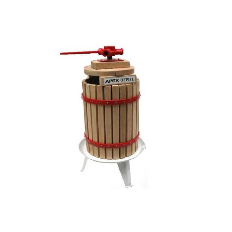 Maischepresse 18 Liter + 3x Pressnetze