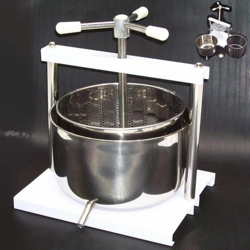 EDELSTAHL Beerenpresse 5 Liter