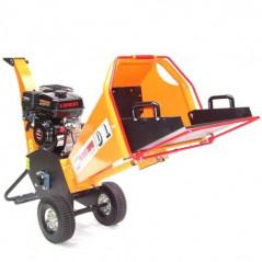 Benzin Gartenhäcksler 6,5PS 196ccm für Aststärken bis 100mm-3