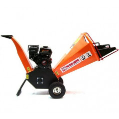 Benzin Gartenhäcksler 6,5PS 196ccm für Aststärken bis 100mm-5