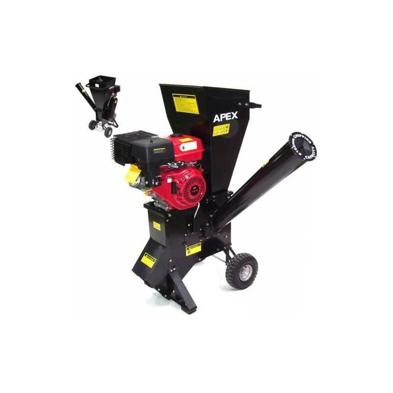 Benzin Gartenhäcksler 15PS 419ccm für Aststärken bis 102mm