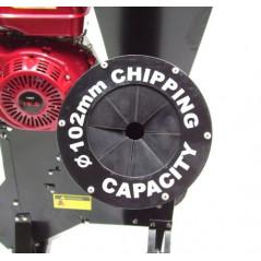 Benzin Gartenhäcksler 15PS 419ccm für Aststärken bis 102mm-3