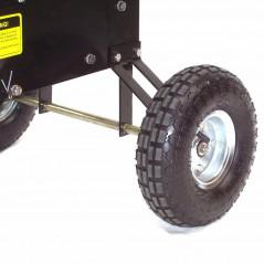 Benzin Gartenhäcksler 15PS 419ccm für Aststärken bis 102mm-9