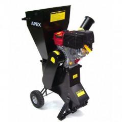Benzin Gartenhäcksler 15PS 419ccm für Aststärken bis 102mm-17