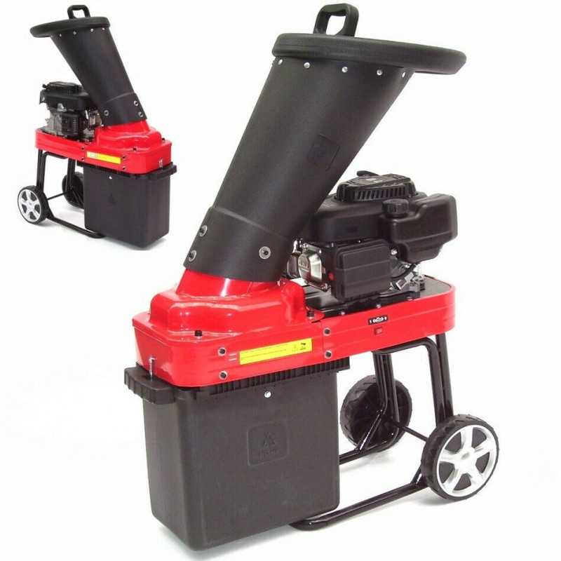 Benzin Gartenhäcksler 4,3PS 173ccm für Aststärken bis 45mm
