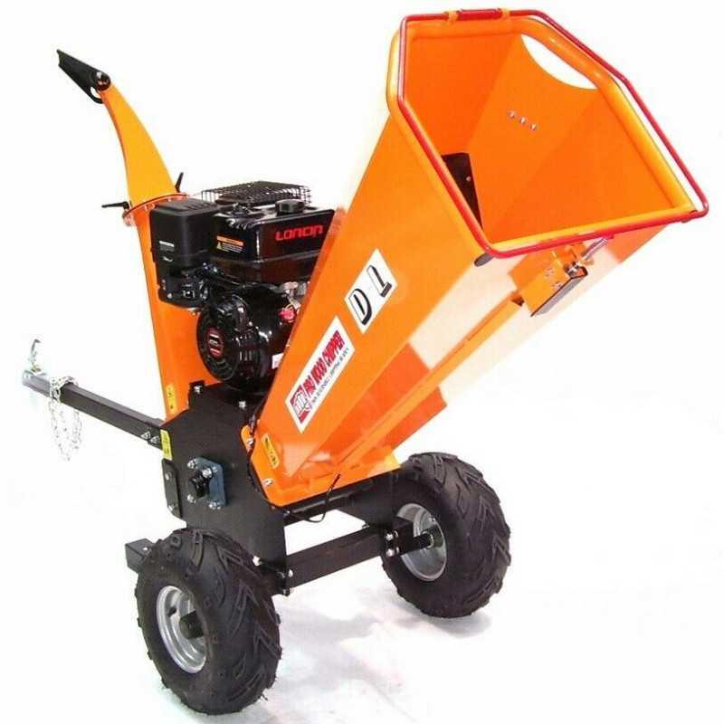 Benzin Gartenhäcksler 15PS 420ccm für Aststärken bis 120mm