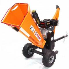 Benzin Gartenhäcksler 15PS 420ccm für Aststärken bis 120mm-3