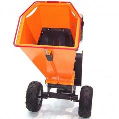 Benzin Gartenhäcksler 15PS 420ccm für Aststärken bis 120mm-5