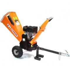 Benzin Gartenhäcksler 15PS 420ccm für Aststärken bis 120mm-7