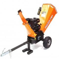 Benzin Gartenhäcksler 15PS 420ccm für Aststärken bis 120mm-9