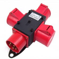 471 Stromverteiler Baustromverteiler CEE-1