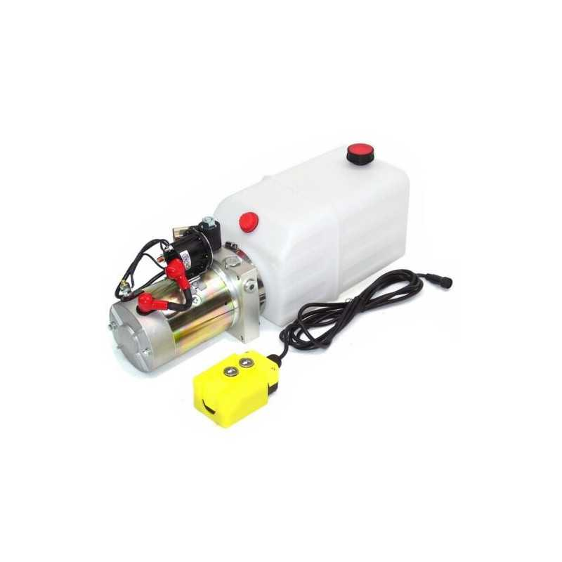 Anhänger 4L Hydraulikaggregat Kipper Hydraulik Pumpe 12 V 180 bar 2000W LKW