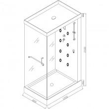 Dampfdusche Design M-11