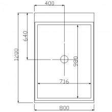 Dampfdusche Design M-13