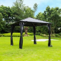 Pavillon Gartenliege Azur-1