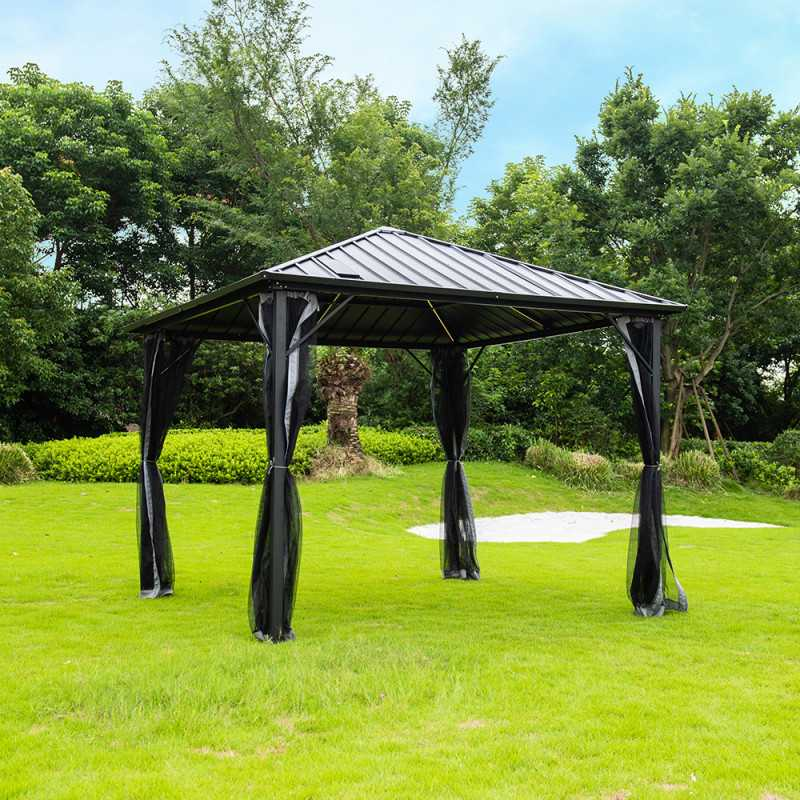 Pavillon Gartenliege Azur