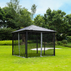 Pavillon Gartenliege Azur-3