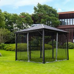 Pavillon Gartenliege Azur-5