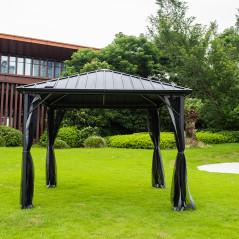 Pavillon Gartenliege Azur-15