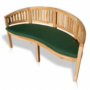 Sitzkissen (grün) für 2er Bananenbank-3
