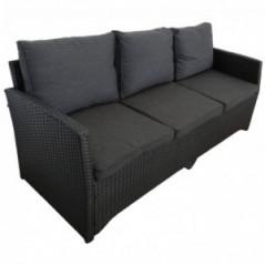 Lounge Set *Norderney* schwarz-3