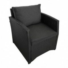 Lounge Set *Norderney* schwarz-5