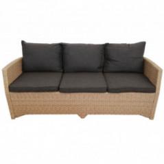 Lounge Set *Norderney* natur-braun-3