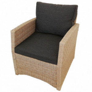 Lounge Set *Norderney* natur-braun-7