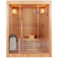 Traditionelle Sauna Skyline L